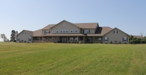 The new Burnside Community Care Facility in Clyde River, PEI